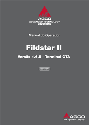 Manual do operador Fieldstar II