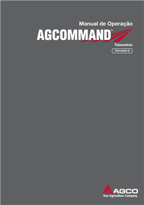 Manual do Operador AGCOMMAND