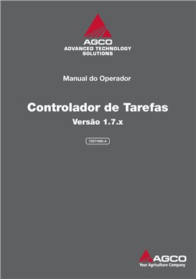 Manual do operador Software Controlador de Tarefas